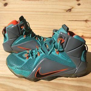 Nike LeBron 12 Xll NSRL Hyper Men's Size 8